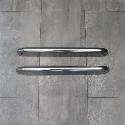 FHBT60-0901-IND Polished Aluminium Partition Grab Rail