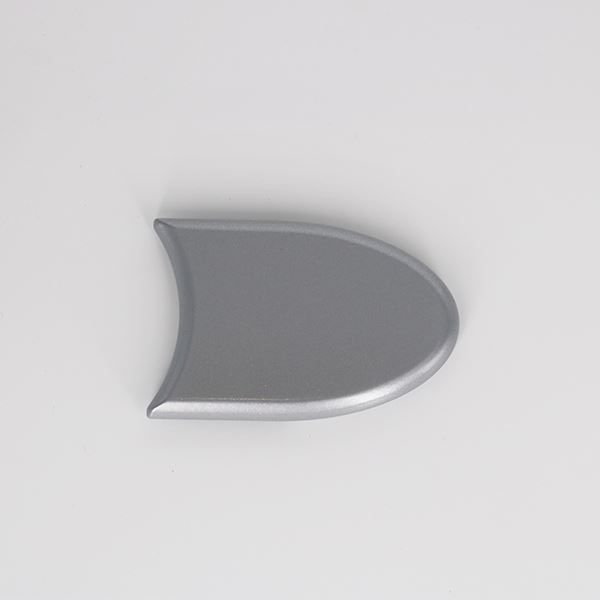 FEC1-0801-IWA Powder Coated Aluminium Headrail End Caps
